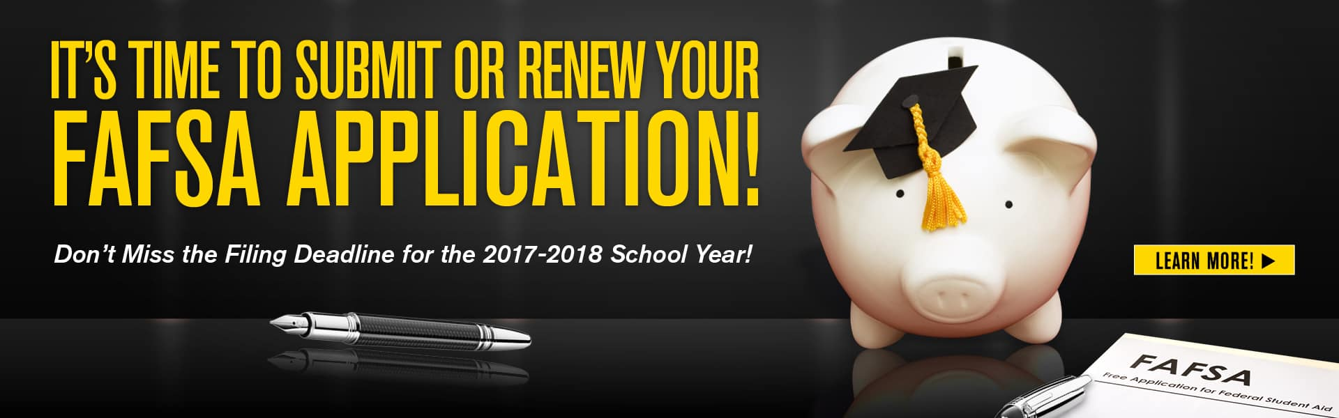 submit or renew your fafsa application
