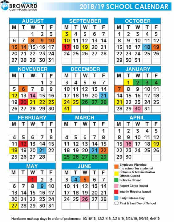 click here to download the 2018 2019 cte pre college calendars